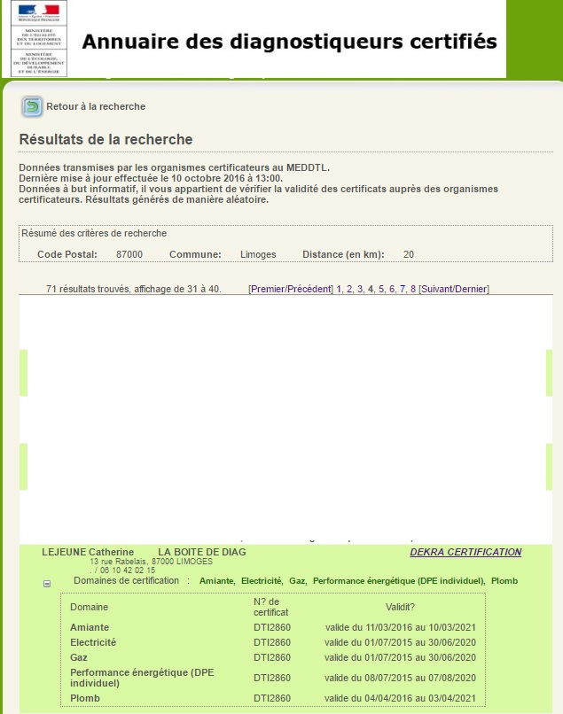 Nos garanties : diagnostiqueurs-application-developpement-durable-gouv